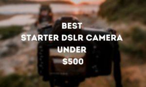 Best Starter DSLR Camera Under $500